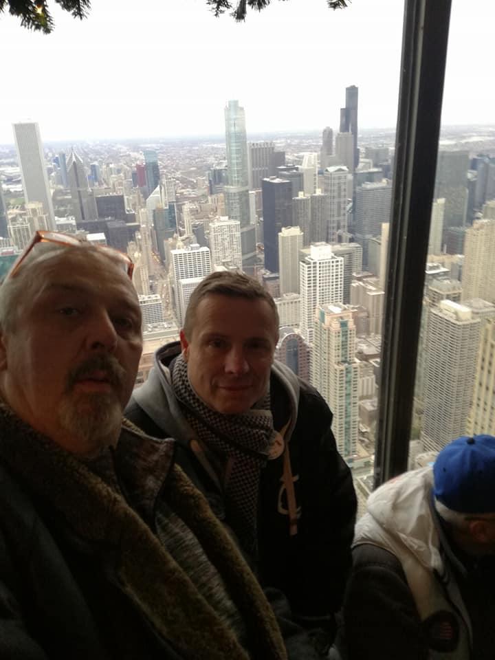 Maxíci v Chicagu, USA